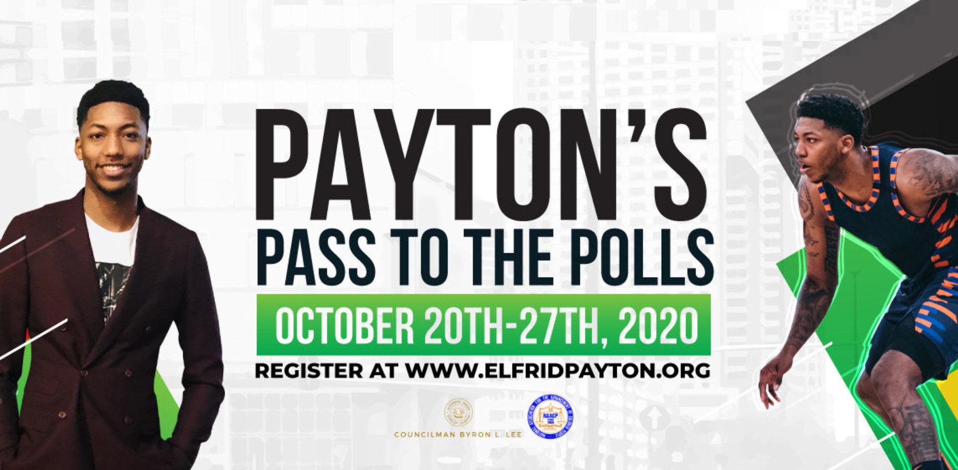 Payton Pass to the Polls
